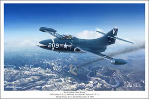 Jet Combat Over Korea by markkarvon