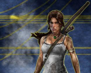 Croft-Strike by Camil1999
