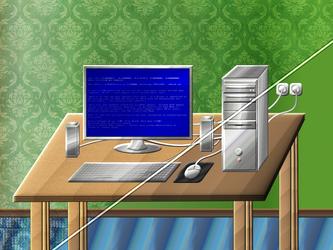 PC Desk by Camil1999