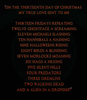 The thirteen horrors of Christmas. Part 2 by Caz747