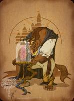 Disney steampunk: Beast by MecaniqueFairy