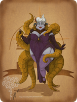 Disney steampunk: Ursula by MecaniqueFairy