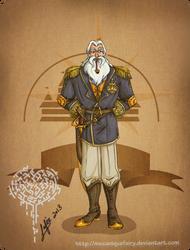 Disney steampunk: King Triton by MecaniqueFairy
