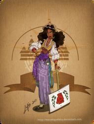 Disney steampunk: Esmeralda by MecaniqueFairy