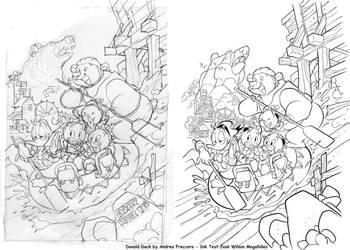 Disney3 by AndreaFreccero InkTest JoseWilsonMagalh by finalmentearte