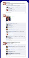 Orihime Facebook Wall by blossom4life