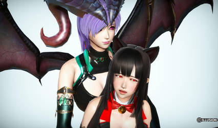Succubus and Cat girl love #15 by dyc8819090