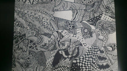 Sharpie Zentangle by MrsKuch11