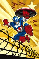 Captain America by BurningEyeStudios