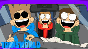 TomsWorld: Road Trip by ADJtheArtist