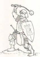 Ulfried von Aschthal, Warrior from Trallop by Yarrick-Wiesel