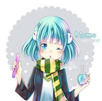 Momo-chan by kawaiimiu