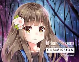 Commission - Night Sky by kawaiimiu