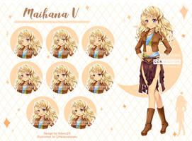 [Kickstarter VN] Commission - Maihana V by kawaiimiu