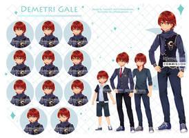 Commission VN - Demetri Gale by kawaiimiu