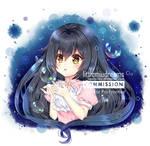 Commission - Rain Himitsu by kawaiimiu