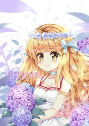 Hydrangea by kawaiimiu