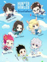 Hunter x Hunter in Wonderland by kawaiimiu