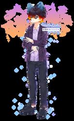 Commission - Yoru by kawaiimiu