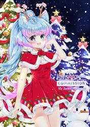 Commission - Christmas Kleo by kawaiimiu