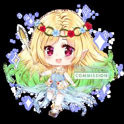 Commission - Elluel by kawaiimiu