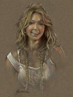 Jessica Alba sketch by thomsontm