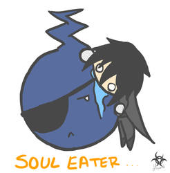 Yum! Eyepatch soul! by melonybiscuits