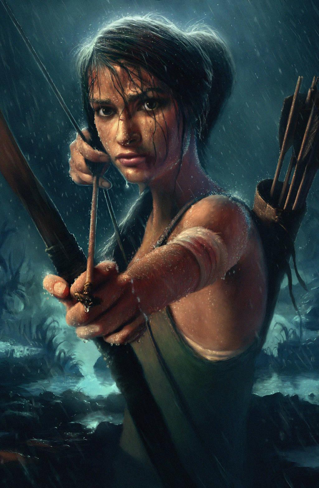 Lara Croft Reborn Contest Entry by mickehill