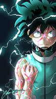 Midoriya Izuku (My Hero Academia) by MickesDA