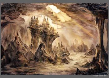 Fantasy Landscape #5 by DrakeTurtle