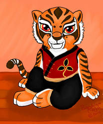 Tiger Cub by BandoleraRoja