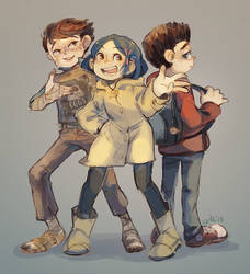 [crossovers] Laika kids by Viridilly