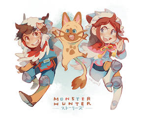 [MHS] MONHUN STORIES!!!! by Viridilly
