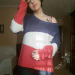 Asymmetric Sweater by motagirl2