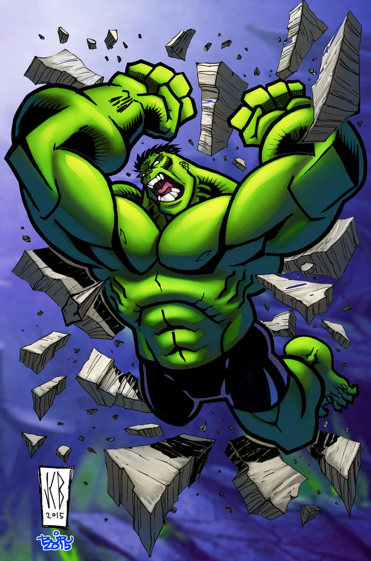 rampaging hulk by WOLVERINE76