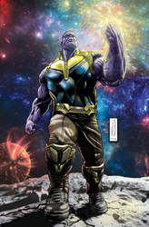 rage of thanos colored by WOLVERINE76