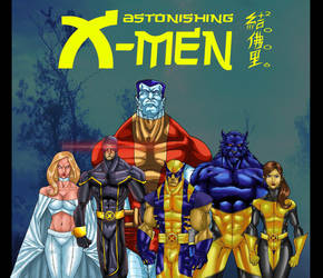 THE ASTONISHING X-MEN by WOLVERINE76