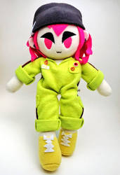 Souda Kazuichi - Danganronpa - Flop doll! by RainbowsPlushies