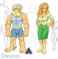 Dwarves by LoopyWolf