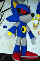 Mecha Sonic plush by LoopyWolf