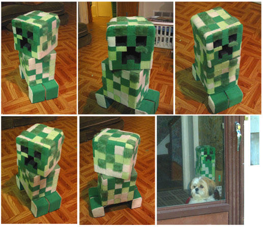 Creeper Plushie by LoopyWolf