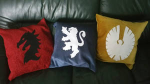 Elder Scrolls Online Pillows by LoopyWolf