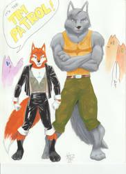 Tim Patrol by LoopyWolf