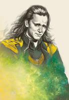 Loki sketch by dosruby