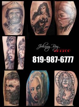 Sherbrooke Tattoo Johnny Boy Tattoo Sherbrooke by Tattoo-Tatouage