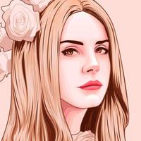 Lana Del Rey by dem0nice