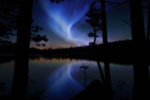 Aurora in the Sierras by revolution-man