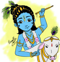 Lord Krishna by paggi93