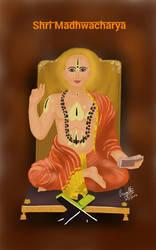 Shri Madhwacharya by paggi93