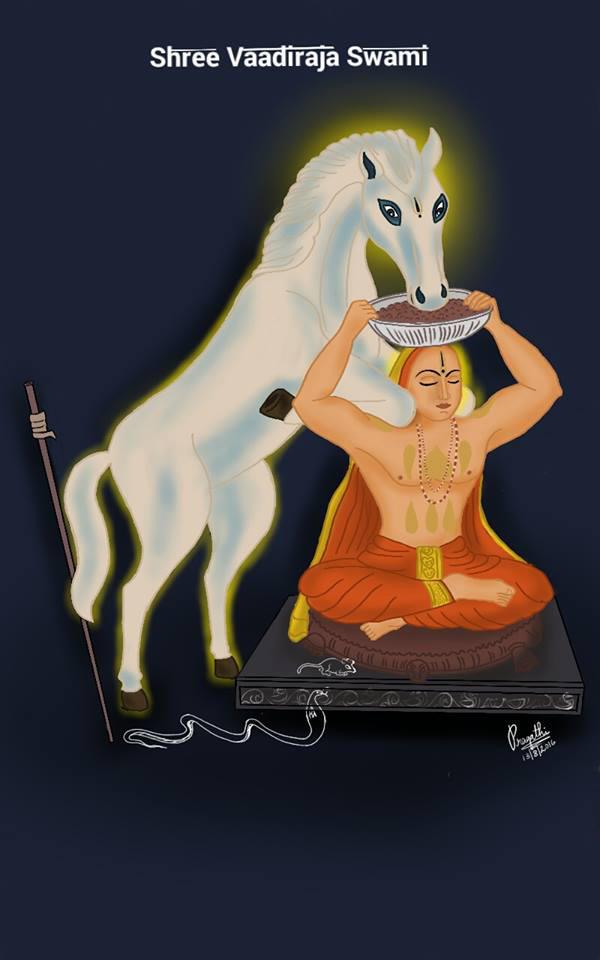 Shri Vaadiraja Swami by paggi93